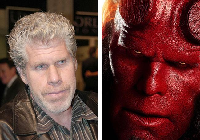 Ron Pearlman Hell Boy Autors: dzelksnis Celebrity Movie Transformations