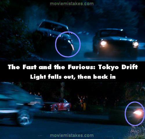 Sākumā lukturis izkrīt bet... Autors: Senču Lācis Ātrs un Bez Žēlastības - Kļūdas (Fast & Furious)