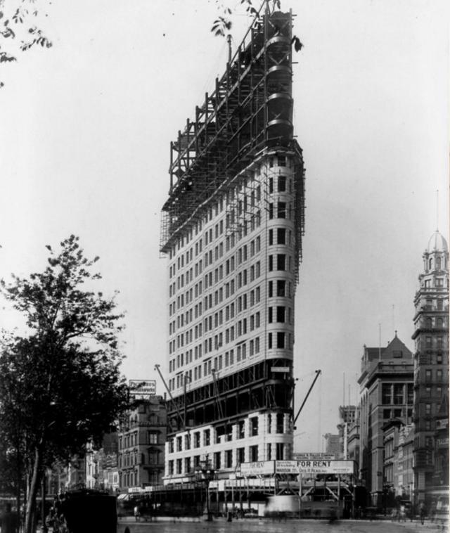 Flatirona ēka 1902g Viens no... Autors: Lestets Pasaules ikoniskās būves pirms to pabeigšanas