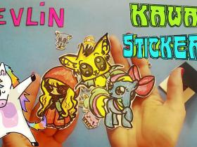Kawaii Stickers  DIY by Devlin Fox