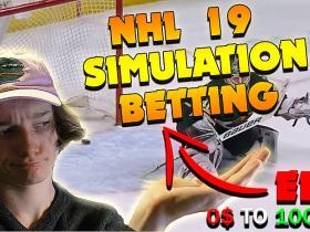 NHL 19 Simulating Games To Bet, IRL Ep.2