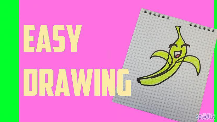 Autors: Halynka Georgiatx How to draw a cute banana