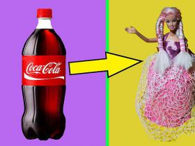 👗 DIY Barbie Dresses with Coca Cola