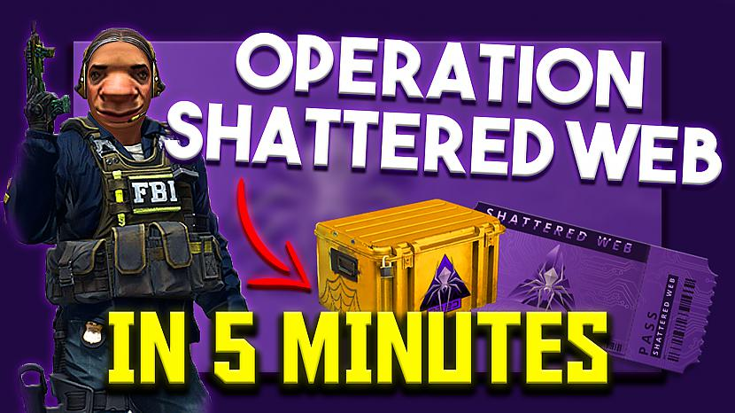 "Autors: mazais puika CS:GO NEW ""Operation Shattered Web"" IN 5 MINUTES + GIVEAWAY!"